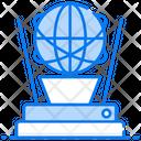 Global Tech Global Technology Virtual Reality Icon