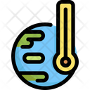 Temperature Ecology Save Icon