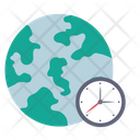 Global Time Time Zone World Icon