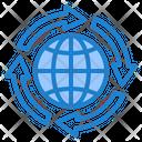 World Global Transfer Icon