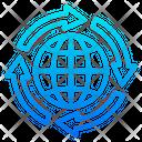 Global Transfer World Global Icon