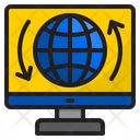 Computer User Interface Global Icon