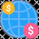 Global Transfers International Currency International Money Icon