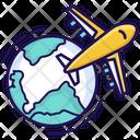 Global Travel Worldwide Travel International Travel Icon