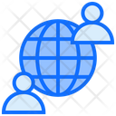 Global Users Worldwide Users Users Icon