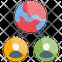 Communication Interaction Relation Icon