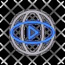 Video View Virtual Icon