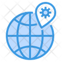 World Epidemic Pin Icon