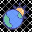 Global Warming Global Warming Icon