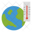 Global Warming Earth Temperature Global Temperature Icon