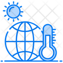 Global Warming Global Temperature Worldwide Temperature Icon