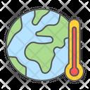 Global Warm Warming Icon