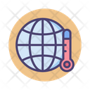 Global Warming Global Temperature Hot Icon