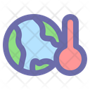 Global Warming Environment Icon