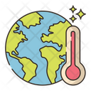 Global Warming Green House Effect Earth Tempeture Icon