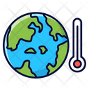Climate Change Global Warming Ecology Icon