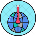 Global Warming Global Temperature Warm Icon
