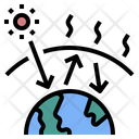 Greenhouse Pollution Change Icon