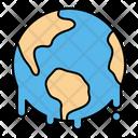 Earth Hot Climate Icon
