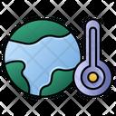 Global Warming Globe Warming Icon