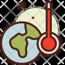 Global Warming Global Warm High Temprature Icon