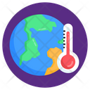 Global Temperature Global Weather Earth Temperature Icon