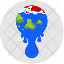 Global Warming Temperature Icon