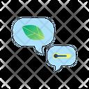 Global Warming Conversation Icon