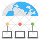 Web Hosting Connections Icon