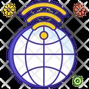 Global Wifi Web Browser Www Icon