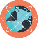 Global wire frame Icon