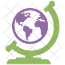 Global World Global Services World In Hand Icon