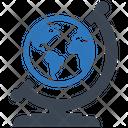 Global World Business Businessman Icon
