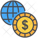Business Earth Grid Global Icon