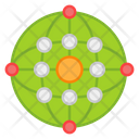 Global Network Global Connections Global Structure Icon