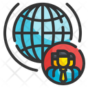 Globalization Business International Economic Icon