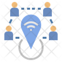 Globalization Hotspot Network Icon