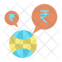 Globally Financial Rupee Icon