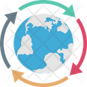Globally Relation Icon