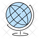 Globe Earth Astronomy Icon