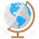 Globe Table Geography Icon
