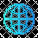 Globe Contact Us Communication Icon