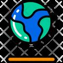 Globe World Geography Icon