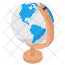 Globe Table Globe Geography Icon