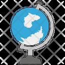 Globe World Map Office Globe Icon