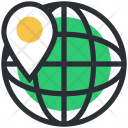Globe Localization Map Icon