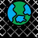 Globe Education School Icon