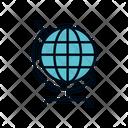 Globe Global World Icon