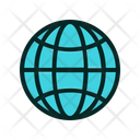 Globe Planet Planet Orbit Icon