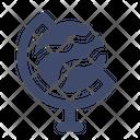 Geography Globe Navigation Icon